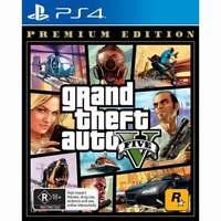 Grand Theft Auto: V Premium Edition for Sony® PS4 / PS5 Rockstar Crime - New!!!