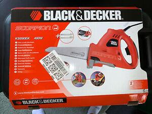 Black & Decker 400W Corded Recip Multi-Function Metal/Wood/Plastic Scorpion Saw