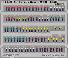 EDUARD 17509 Aircraft Carrier Figures in 1:350