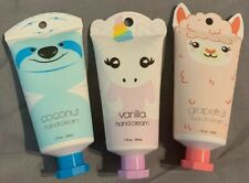COCONUT,vanilla Or Grapefruit Hand Cream With Keychain Hole & Animal Packaging