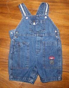 Toddler  Eddie Bauer     Blue Denim  Jean BIB Overalls     BABY     18 mo