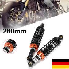 """Peer 11"""" 280mm Motorrad Gokart Quad ATV Rückseite Stoßdämpfer Federbeine Hinten"""