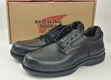 Red Wing Mens Electrical Hazard Black Leather Lace Up Oxford Shoes USA 8636 7.5D