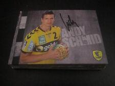 50196 Andy Schmid Rhein Neckar Löwen Handball original signierte Autogrammkarte