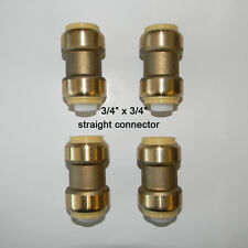 4  piece Sharkbite Style 3/4  inch Push Fit Couplings