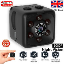 Mini WIFI Hidden Spy Cube Camera 1080P Night Vision Motion Detection Home UK