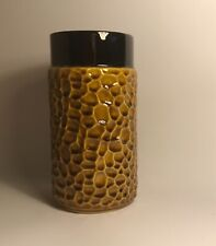 HONEYCOMB VASE. - 18cm x 9 cm  FROM PORTUGAL.