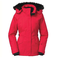 The North Face Women's Tremaya Crop Jacket, Red, Large