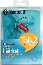 Cellular Innovations LT-200 Bluetooth Headset (Red) [RETAIL PACKAGED]