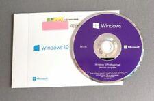 NEUF DVD Windows 10 Professionnel 64 Bits Français - ORIGINAL Microsoft