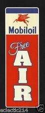 MOBIL OIL Gas VINYL Sticker Decal Garage Service AIR Station Vintage Style