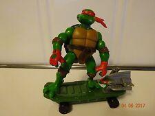 Playmate Ripped Up Raphael Figure 2004 Teenage Mutant Ninja Turtles  Skate Board