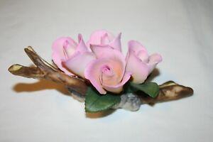 Capodimonte Napoleon Betty Rosebud Bicolor Flower