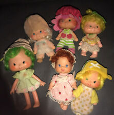 Lot of 5 assorted Strawberry Shortcake Dolls