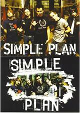 Simple Plan Band Portraits 2 Postcards