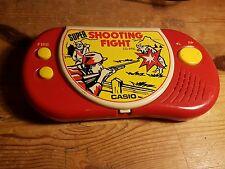 ELECTRONIC CASIO SUPER SHOOTING FIGHT HANDHELD RETRO GAME
