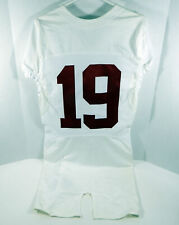 2009-15 Alabama Crimson Tide #19 Game Used White Jersey BAMA00132