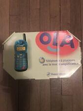 Téléphone Alcatel OLA 106 bleu Atoll Complet avec boîte  Jamais Servi