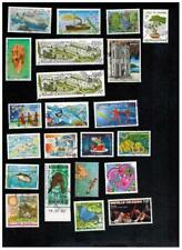 Large Collection Lot POSTALLY USED stamps of New Caledonia Neukaledonien