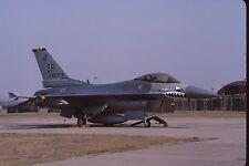 Original colour slide F-16C Fighting Falcon 51552/SP of 52 TFW USAF