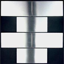 stainless steel mosaic backsplash kitchen mi-bri150
