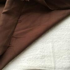 Dark Brown Lightweight 100% Lightweight Flowing Rayon Apparel Fabric 4yrds x 55W