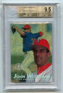 John Wetteland 1997 Flair Showcase Row 0 BGS 9.5 ABC3687