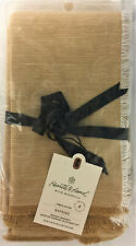 8/Pk Hearth & Hand with Magnolia Cross Dyed Napkins, Golden Yellow
