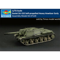 Trumpeter 07129 1/72 Soviet SU-152 Self-propelled Heavy Howitzer - Early Model