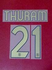 FLOCAGE OFFICIEL THURAM FC BARCELONE HOME 2006/2007 JUNIOR
