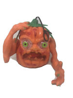 Vintage 1994 Spearhead Halloween Pumpkin Head Lights Sound Boglins Goblin Works