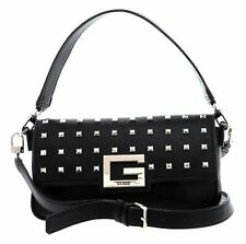 GUESS Brightside Shoulder Bag Handtasche Umhängetasche Tasche Black Schwarz Neu