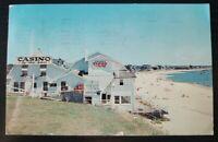 Casino By-The-Sea~ Cape Cod, Mass~ Vintage Postcard~P299
