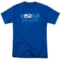 SESAME STREET COOKIE MONSTER EYES Licensed Men's Graphic Tee Shirt SM-5XL