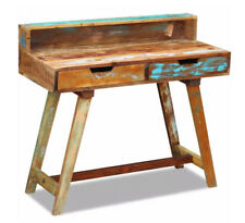 Vintage Retro Desk Mid Century Style Wood Writing Table Office Furniture Rustic