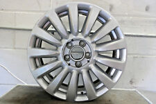 "1 x Genuine Original Fiat 500 Lounge 16"" Alloy Wheel Silver 6.5J 735585995"