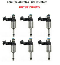 Genuine ACDelco Fuel Injectors 6 for 2008-2011 Chevrolet Cadillac GMC Buick 3.6L