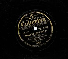 """JOAN HAMMOND They Call Me Mimi / One Fine Day 78 rpm 12"""" Shellac Columbia DX1003"""
