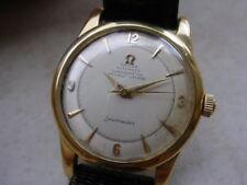 RARE Vintage Omega Seamaster Chronometer Cal. 352, 18K Srew Back Case 2520.