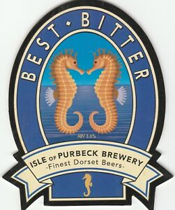 ISLE OF PURBECK BREWERY - BEST BITTER - PUMP CLIP FRONT