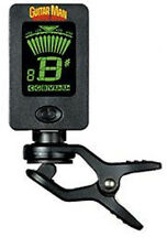 Guitarman GM 01 Mini Clip-On Chromatic Tuner.For Guitar & Ukulele. Simple To Use