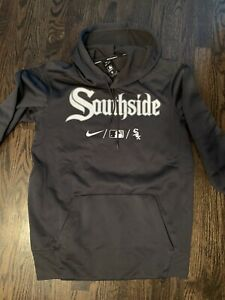 Chicago White Sox 2021 Nike City Connect Southside Hoodie Size Medium Brand New