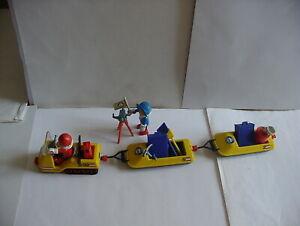 PLAYMOBIL ARKTIS POLAR SCOOTER FORSCHER SCHNEEMOBIL EXPEDITION 3464 1986