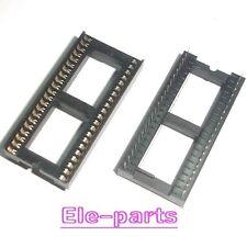 10 PCS DIP-42 42 PIN 42PIN IC Sockets Adaptor Solder Type Wide connector dense