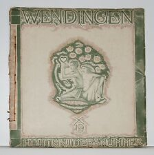 Wendingen, art deco magazine 1919 no.7/8, dutch Woodprints, Houtsnijders nummer