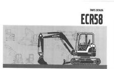 VOLVO EXCAVATOR ECR58 PARTS MANUAL