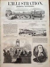 L'ILLUSTRATION 1844  N 61 L'ADMINISTRATION DES POSTES DE PARIS : LES FACTEURS