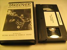 Rare VHS Tape TAKEOVER Heroes of the New American Depression 1991 [Z10b7]