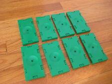 Lot of 8 LEGO SOCCER GREEN PLATES base futbol football sports field set bulk