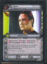 Star Trek CCG What You Leave Behind RARE 14R67 Data, Tempted by Flesh